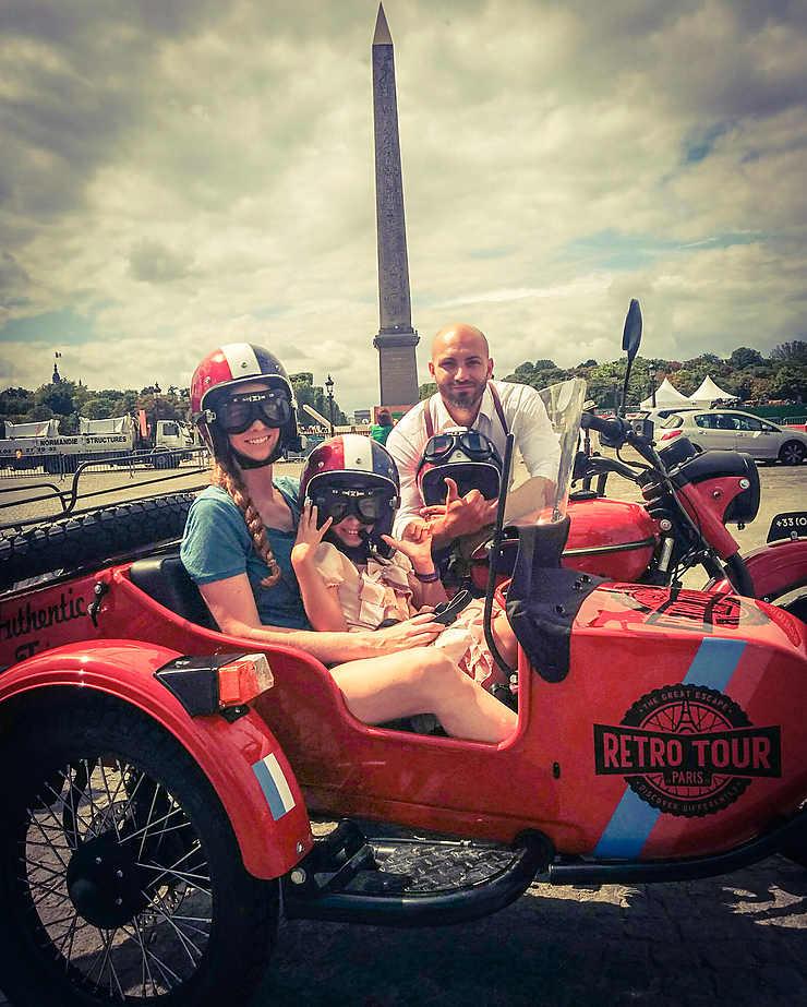 Paris sur les chapeaux de roue
