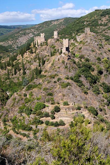 Les 4 châteaux de Lastours