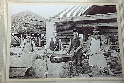 Les ouvriers de l'époque