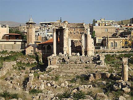 Vue du temple de Vénus