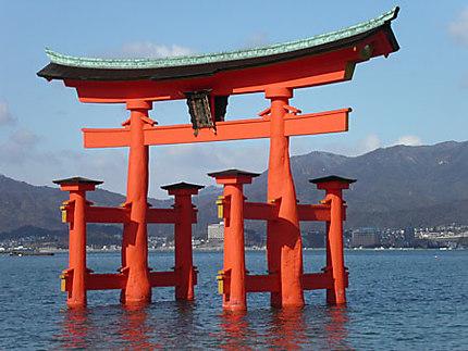 Torii de l'ile de Miyajima