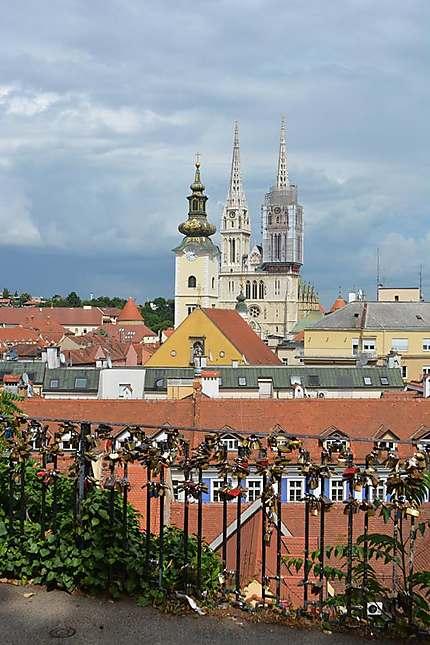 Sur les hauteurs de Zagreb