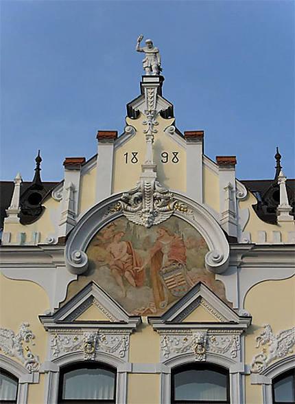 Pignon Art Nouveau