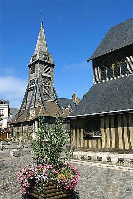 Clocher et église Ste-Catherine, Honfleur
