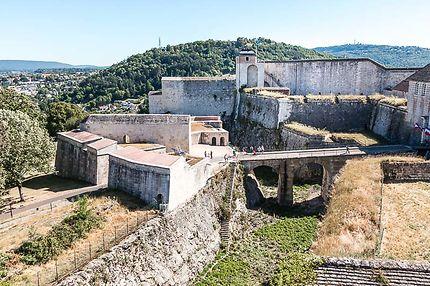 Besançon, La Citadelle, Chemin de ronde est