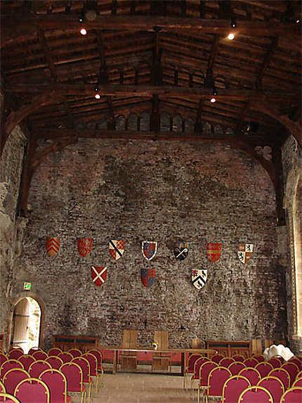 Salle du château de Caerphilly