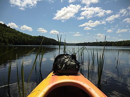 Kayak sur le Wapizagonke