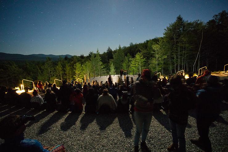 Canada - Le premier planétarium à ciel ouvert inauguré au Québec