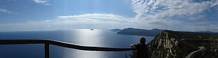 Panorama depuis la route des Crêtes