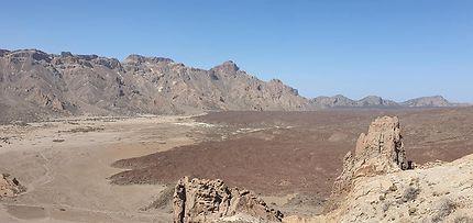 Panorama sur le Parc National du Teide à Ténérife