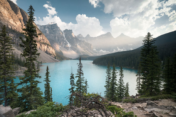 Moraine Lake, Parc national de Banff, Alberta