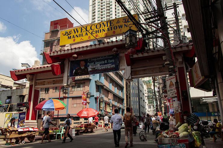 Dans le Chinatown de Manille