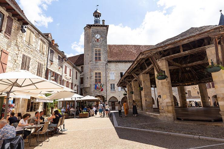 Martel : cité médiévale et train de la truffe