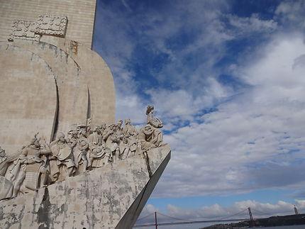 Monumento das Descobertas à Belem
