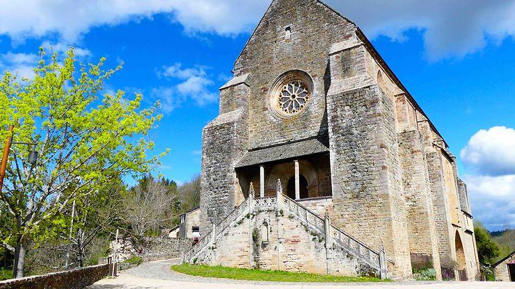 Eglise St Jean, XIIIème siècle, Najac, Midi-Pyrénées