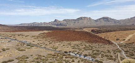 Vue sur le parc National du Teide, Ténérife
