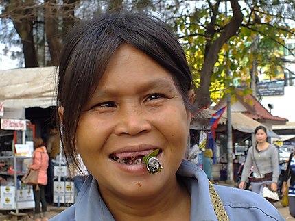 Portrait à Vientiane