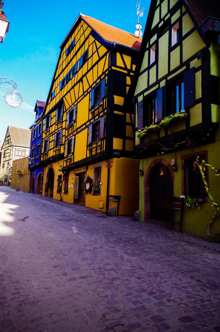 Rue de Riquewihr, Alsace