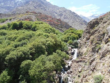 La cascade d'Imlil et Aremd