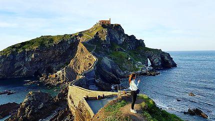 Dans les hauteurs du Pays Basque