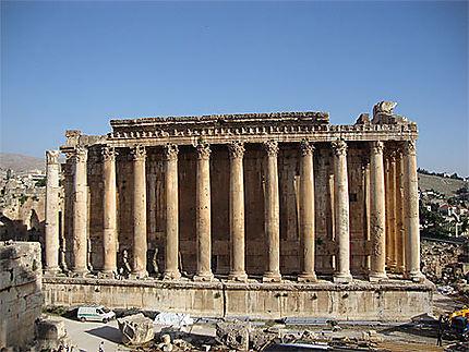 Le temple de Bacchus, un des temples les mieux conservés du monde romain