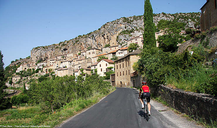 Aveyron - Un itinéraire cyclable reliant 10 plus beaux villages de France