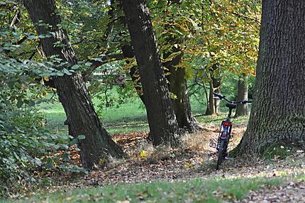 Petite pause après une balade à vélo