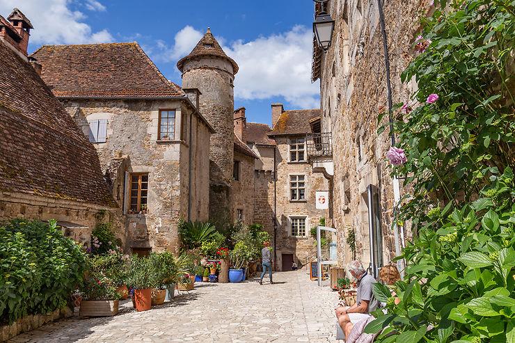 Carennac, Loubressac et Autoire : des villages de charme