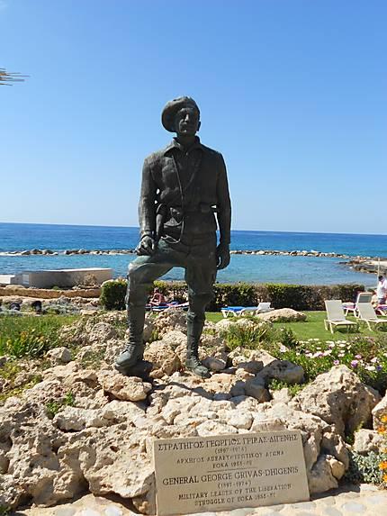 Statue du Général George Grivas- dhigenis