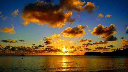 Sunset à Dumbéa