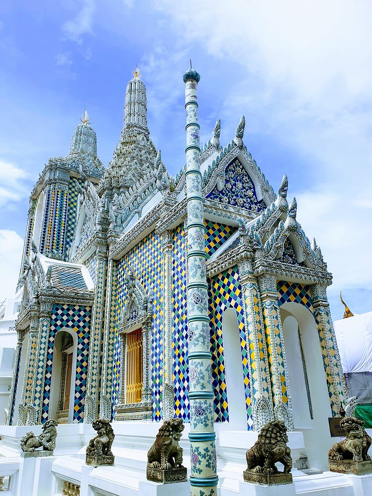 Phra Gandhara Hall, temple Bouddhiste à Bangkok