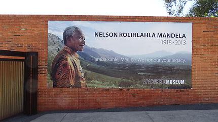 2017 Musée de l'apartheid à Johannesburg