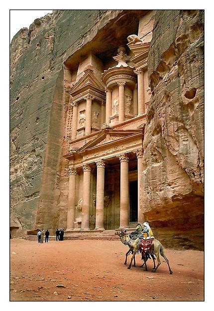 Fin de journée à Petra