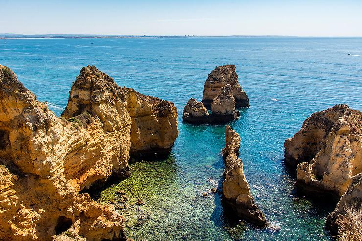 Ponta da Piedade et grotte de Benagil, sur la côte