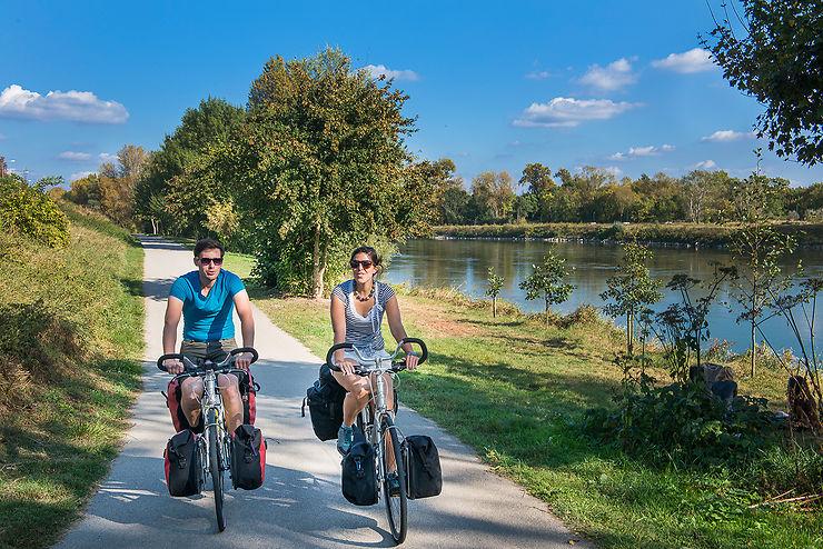 Saint-Jacques à vélo : bords de Loire à Marmoutier