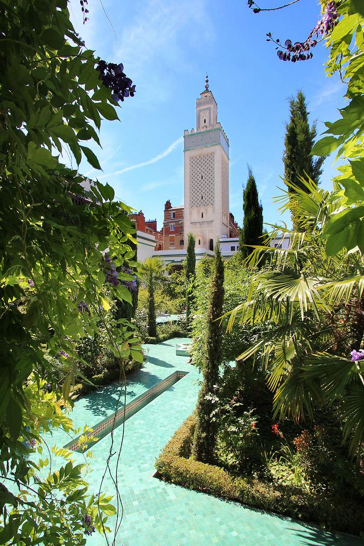 La Grande Mosquée de Paris... on dirait le Maroc !