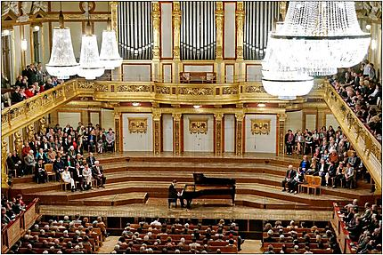 Concert au Musikverein