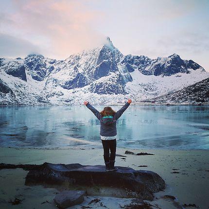 Magie glacée des îles lofoten