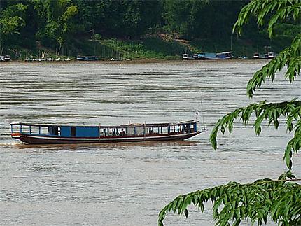 Le Mékong à Luang Prabang