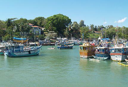 Le port de Tangalle