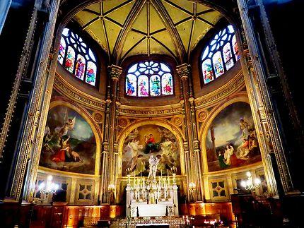 Autel de l'église Saint-Eustache, Paris