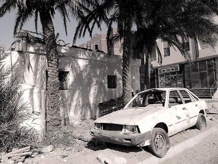 La vieille voiture abandonnée, Hurghada
