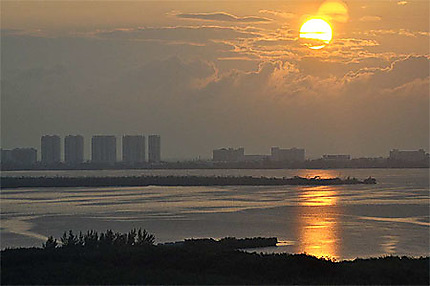 Lever du soleil à Cancun