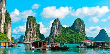Circuits inoubliables au Vietnam + vols A/R