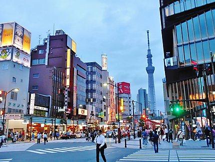 Quartier d'Asakusa
