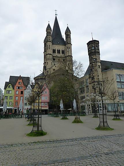 Sur les quais de Cologne