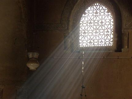 Dans la mosquée El-Azhar