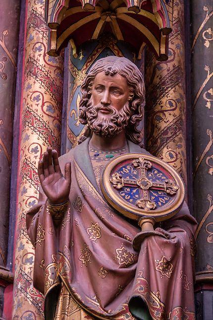 Sainte-Chapelle, statue d'apôtre