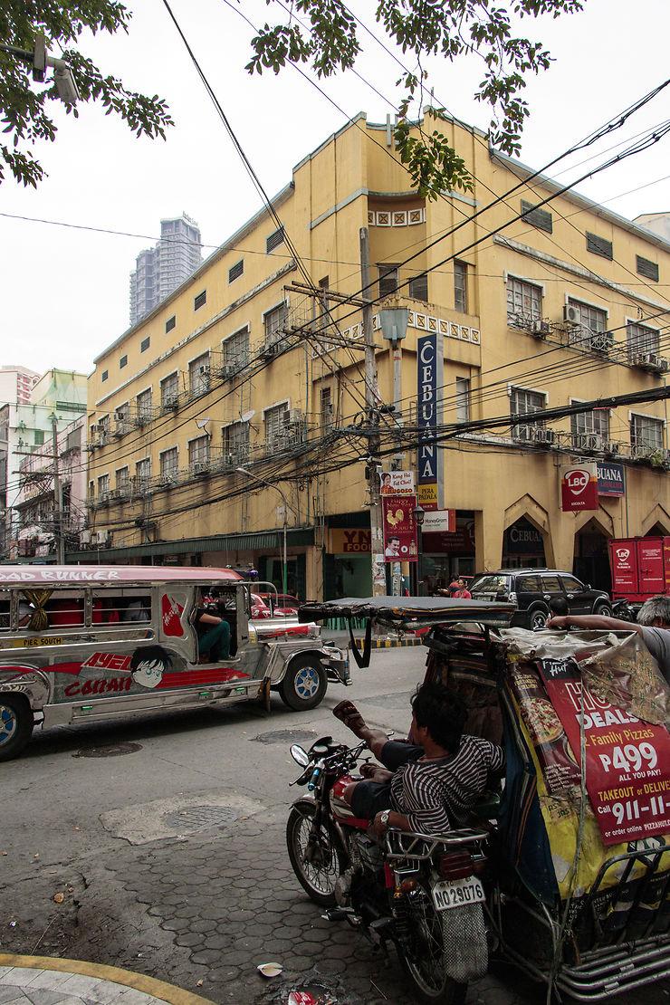 Balade dans le centre-ville de Manille