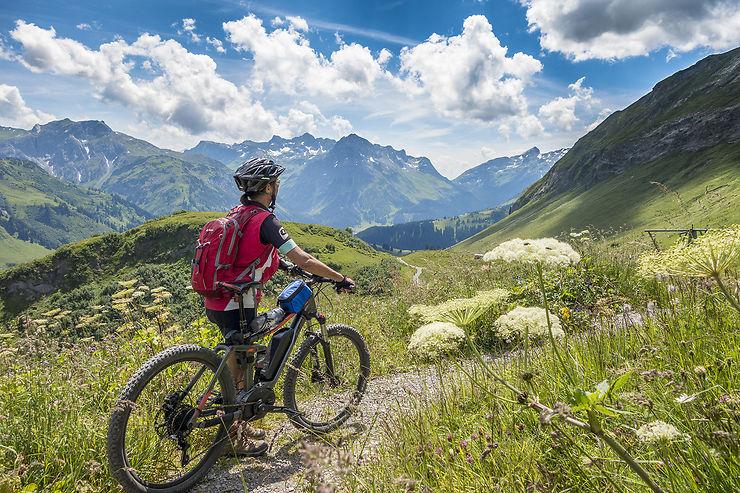 Vélo dans le Vorarlberg et le Tyrol